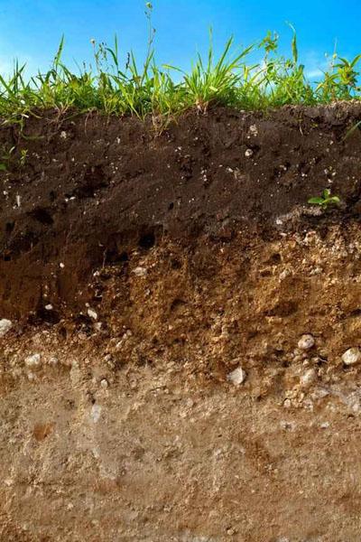 توپوگرافی تشکیل خاک